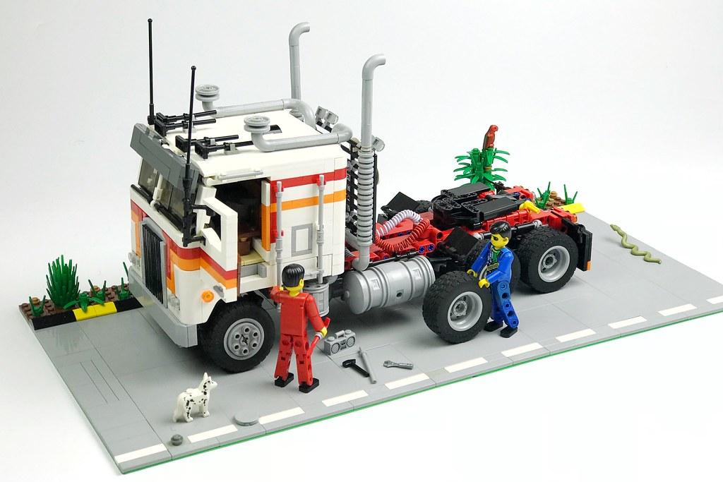 Kenworth K100 - LEGO Technic and Model Team - Eurobricks ...