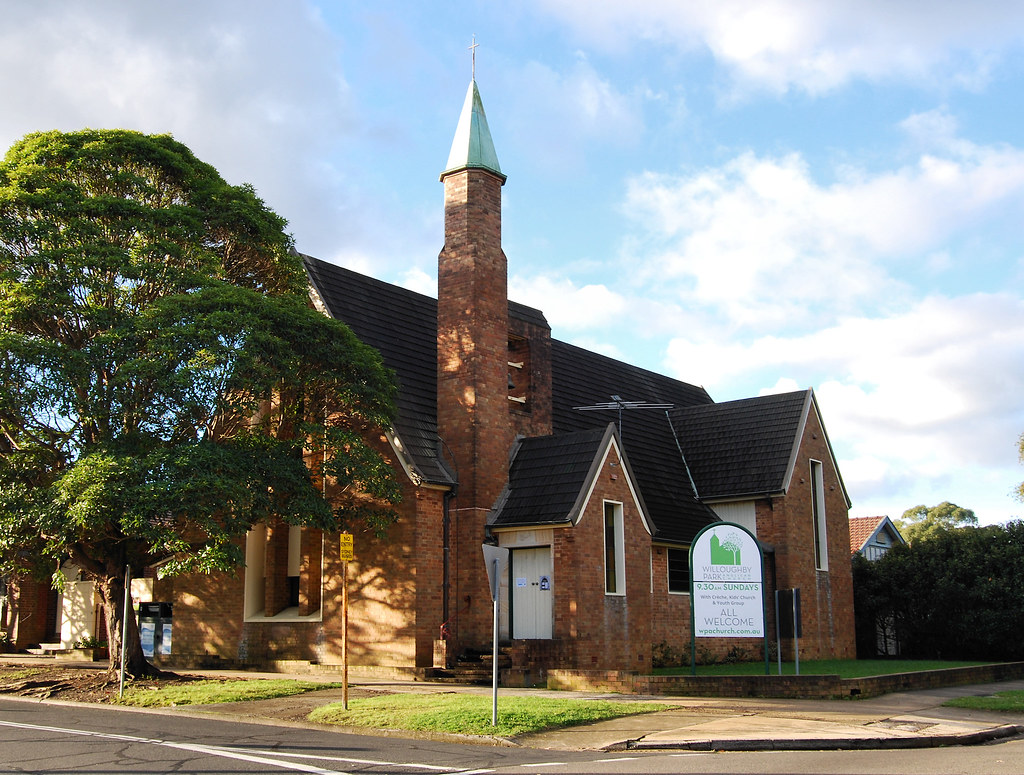 Willoughby Park Anglican Church, North Willoughby, Sydney, NSW.