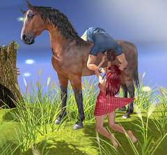 Pose and Backdrop: *A&D* Enchanted Glade (3)...