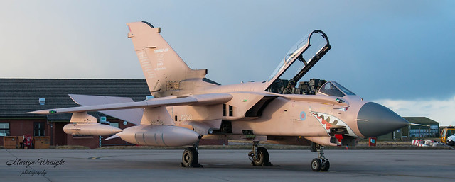 Tornado GR4 Final departure checks.