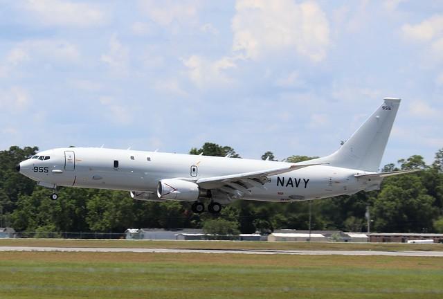 Navy P-8A Poseidon 955, #167955, (3)