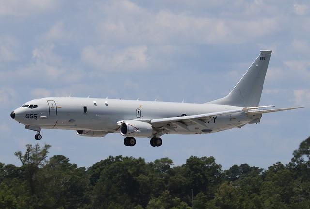 Navy P-8A Poseidon 955, #167955, (2)