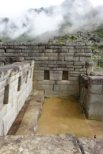 Inside structure. From History Comes Alive at Machu Picchu