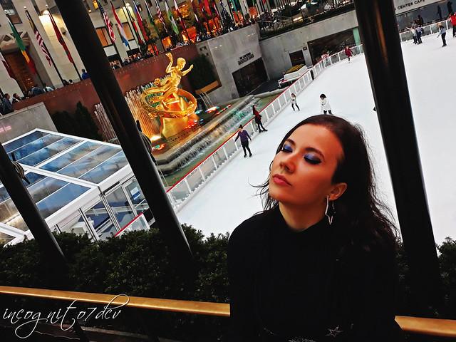 At The Rink Rockefeller Center & Plaza Midtown Manhattan New York City NY P00526 20191021_175535