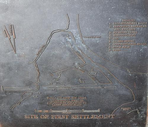 Map of Moreton Bay Convict Settlement