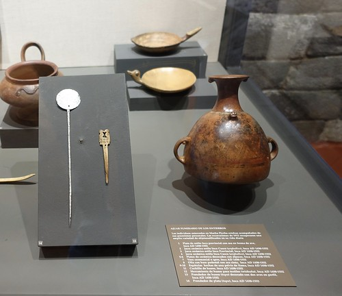 Museum Artifacts from 1912 Expedition. From History Comes Alive at Machu Picchu
