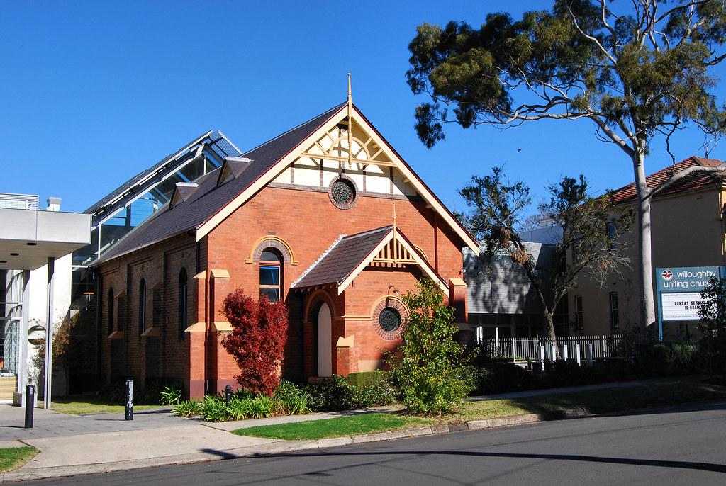 Willoughby Uniting Church, Sydney, NSW.