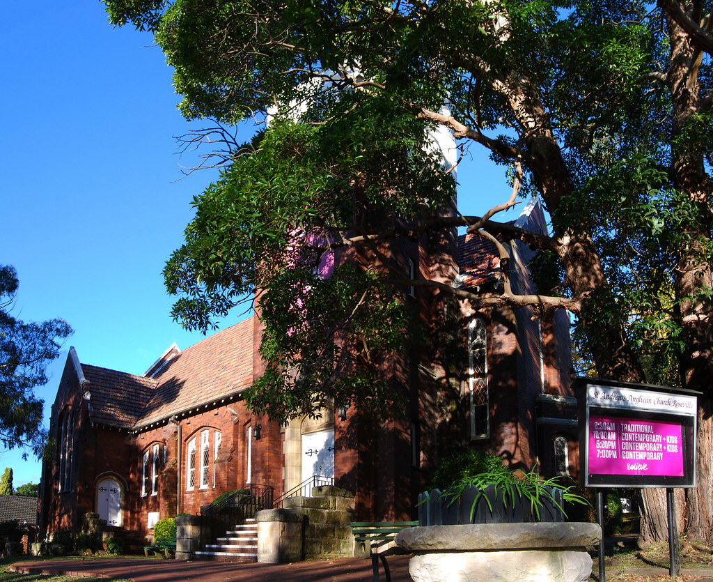St Andrews Anglican Church, Roseville, Sydney, NSW.