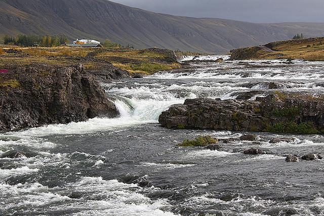 Rainy Day Along Hvalfjordur