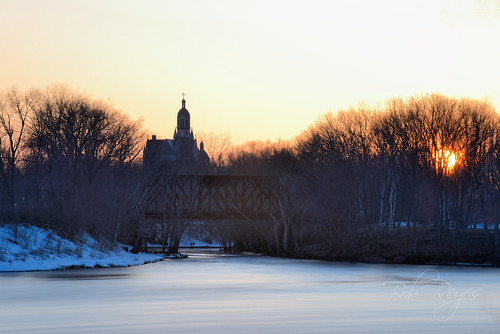 sunset sunrise church river merrimack reyes nikon d800 newhampshire rio agua iglesia stmary archangel
