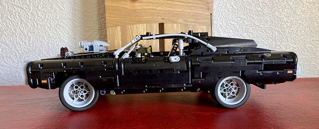 Day 50-  lego technic Dom's Dodge Charger