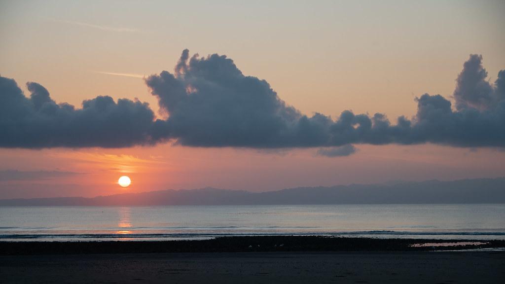 Coucher de soleil - Playa Tamales