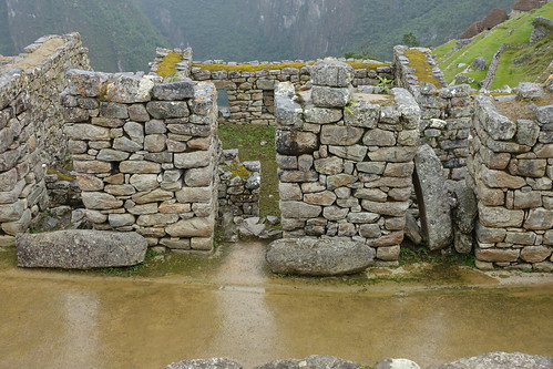 Entrance into buildings. From History Comes Alive at Machu Picchu