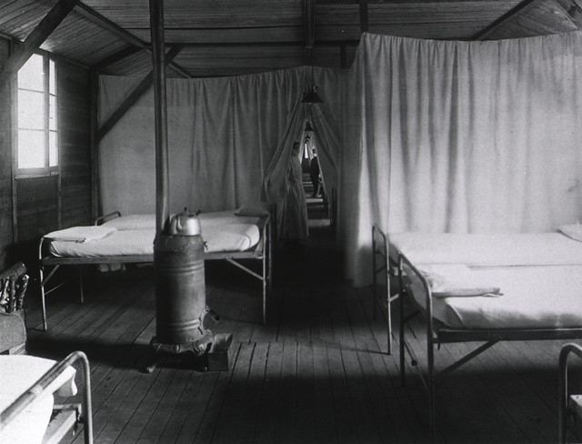 U. S. Army Base Hospital Number 59, Rimaucourt, France: Ward no. 11, infectious diseases
