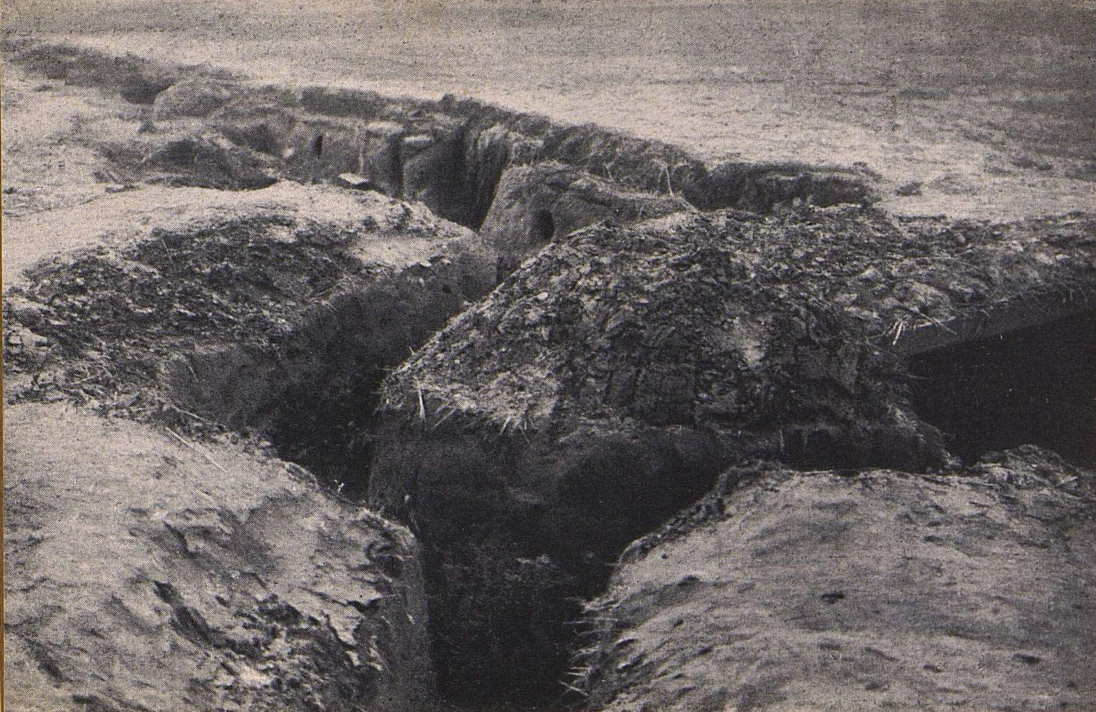 02. Немецкие окопы в Еленове под Варшавой