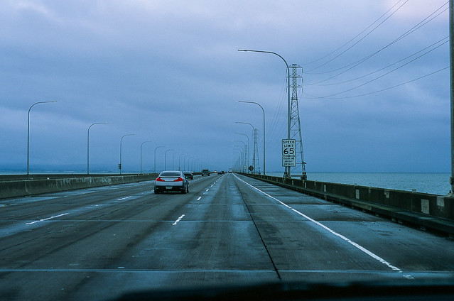 San Mateo Bridge, California