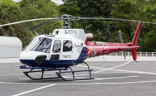 G-ETPG Airbus Helicopters H125 / AS350B3e Ecureuil @ Castle Air Charters Ltd, Liskeard, Cornwall.