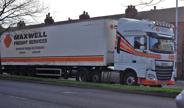 Maxwell Freight Services DAF XF T400 MFS