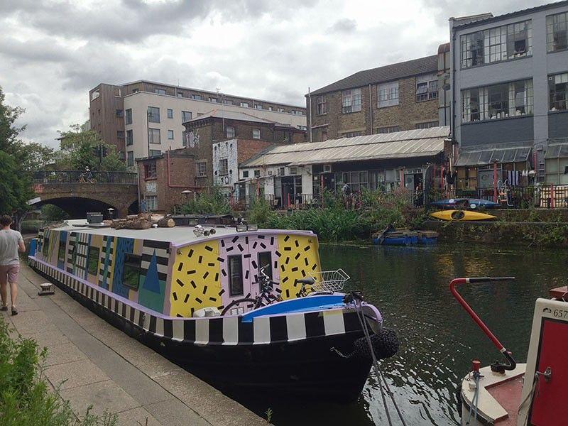 Canal en Londres