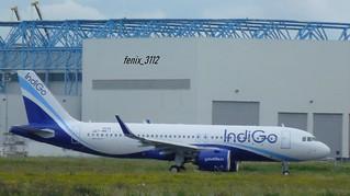 Indigo A320neo (F-WWIY VT- MSN9596)