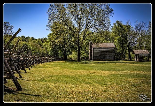 An Old Homestead in Arkansas