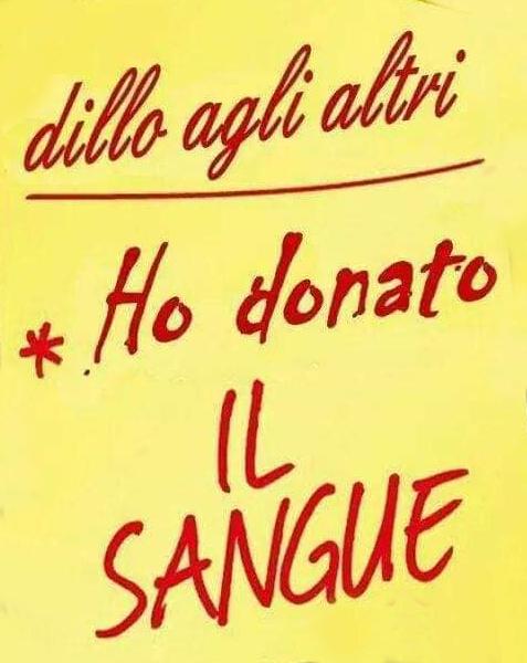 fidas donazione sangue