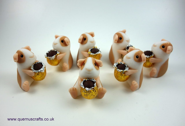 Wee Easter Egg Guinea Pigs
