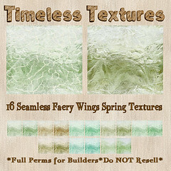 TT 16 Seamless Faery Wings Spring Timeless Textures