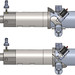 Renderings of the ERIS rocket in a closed firing position (top) and open stopped position (bottom).
