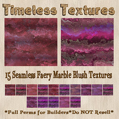 TT 15 Seamless Faery Marble Blush Timeless Textures