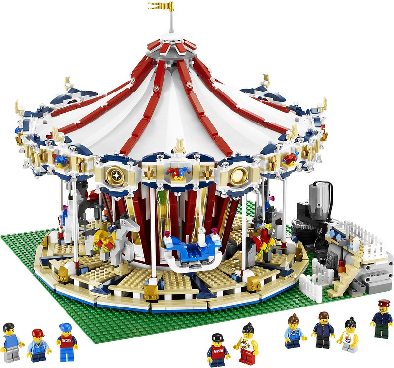 A Look At LEGO.... Fairgrounds