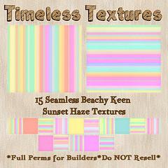 TT 15 Seamless Beachy Keen Sunset Haze Timeless Textures