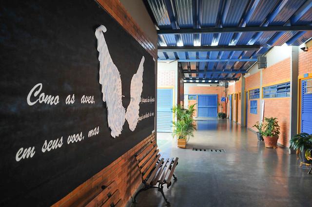 Avançam obras de restauração em escolas da rede pública do DF