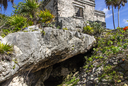 The Offertories and alcove, Tulum, Mexico
