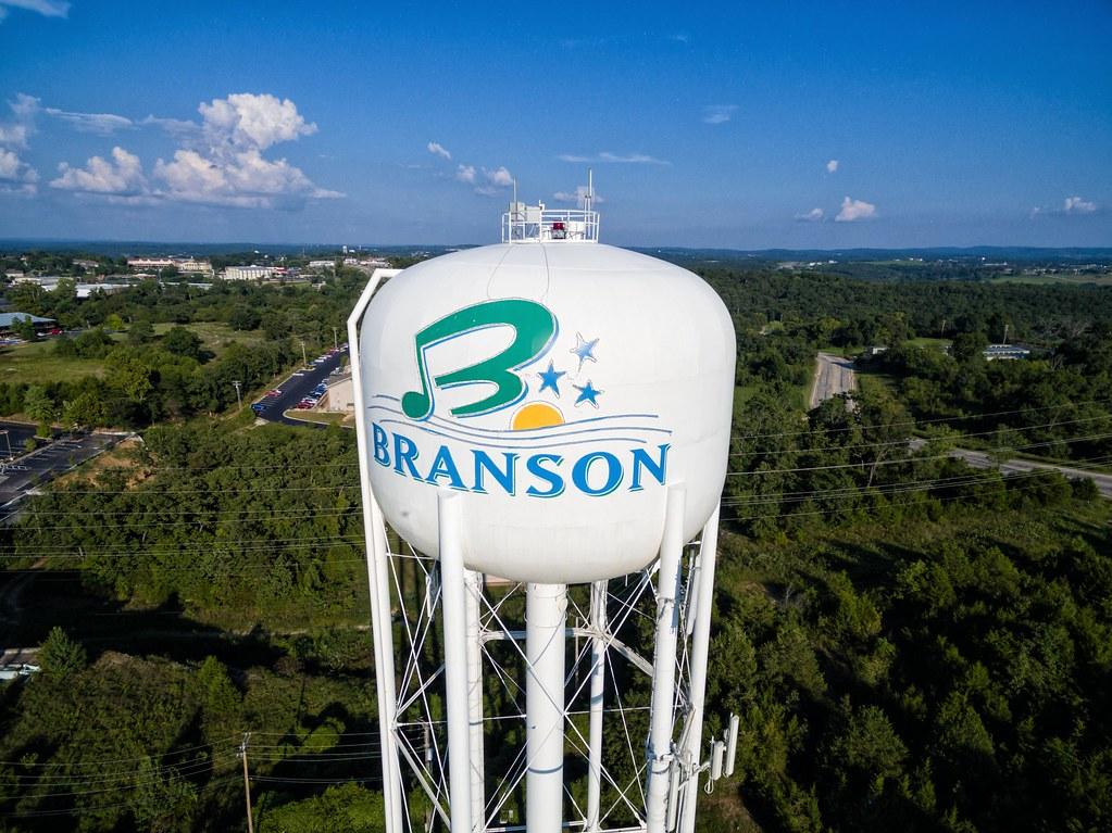 Branson water tower
