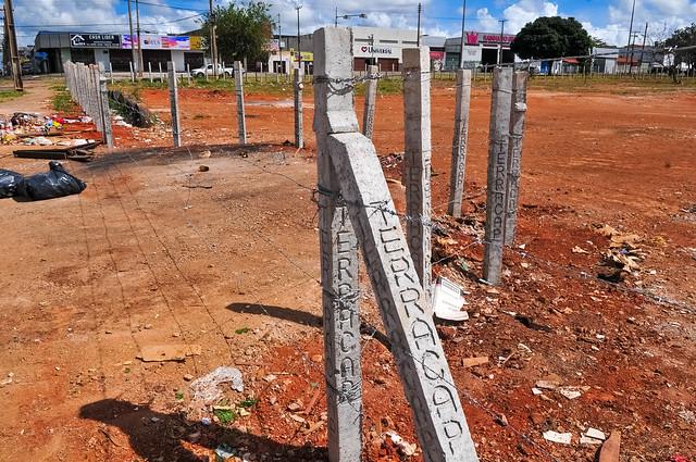Combate à dengue: Áreas públicas são limpas e cercadas em Ceilândia