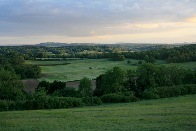 The view from Newlands corner