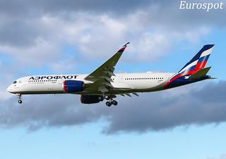 F-WZFN Airbus A350-900 Aeroflot