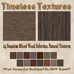 TT 14 Seamless Mixed Wood Selection Natural Timeless Textures