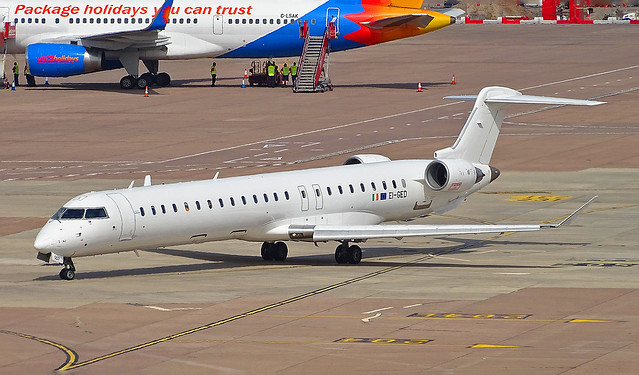 EI-GED Bombardier CRJ900 of Brussels Airlines