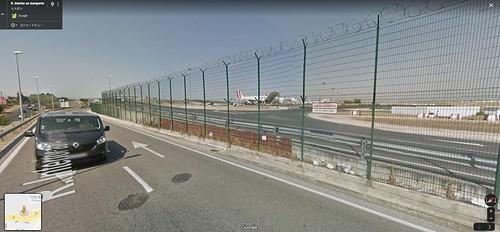 ポルテラ空港視座低い