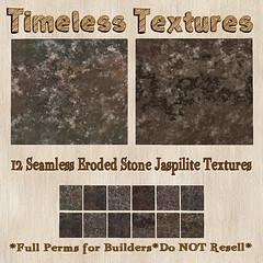 TT 12 Seamless Eroded Stone Jaspilite Timeless Textures