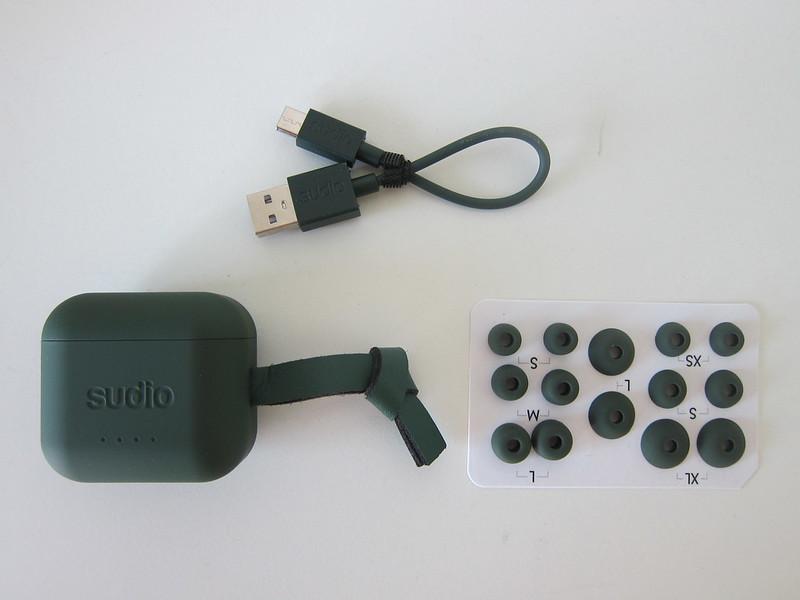 Sudio Ett - Green - Contents