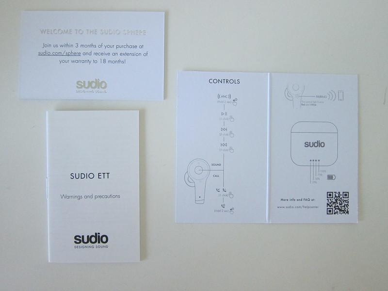 Sudio Ett - Booklets