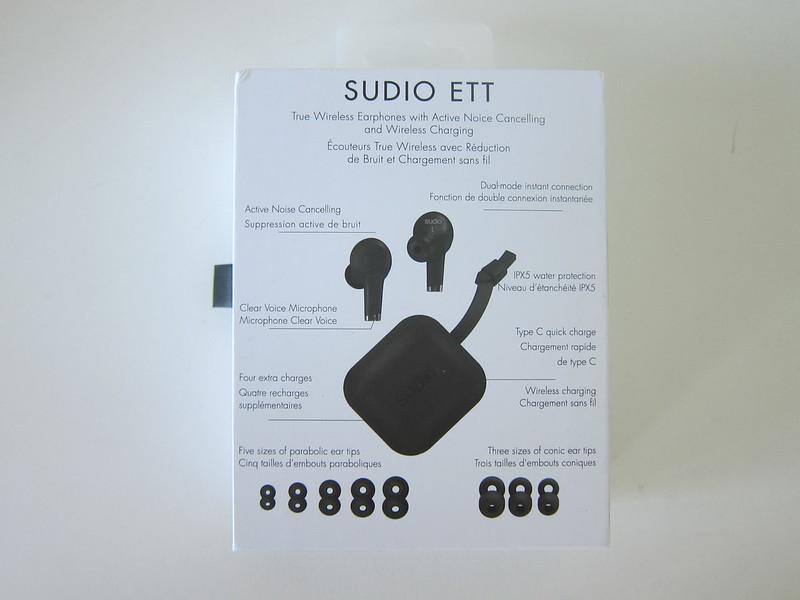 Sudio Ett - Box Back