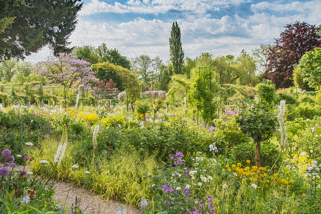 Armchair Traveling - Monet's Garden at Giverny, France