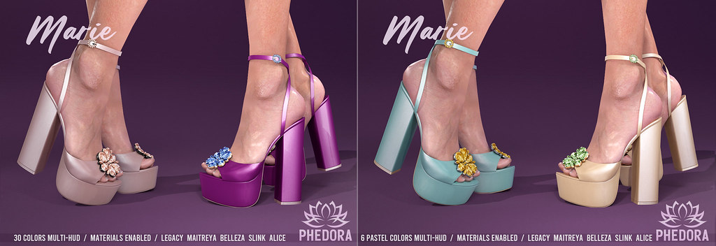 "Phedora for Collabor88 ~ ""Marie"" Platforms ♥"