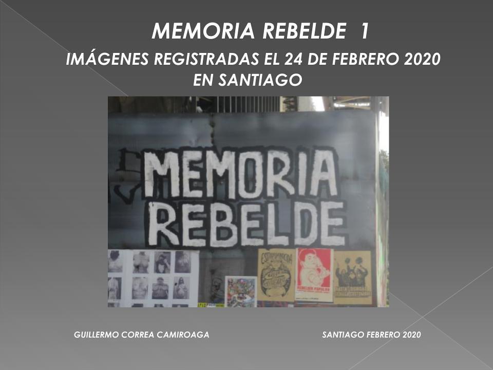 Galeria memorias de la rebelion GAM