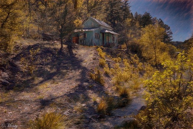 Little Cabin in the Woods, Mogollon, News Mexico