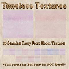 TT 16 Seamless Faery Frost Bloom Timeless Textures